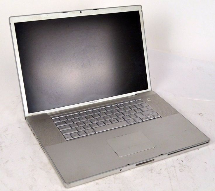 "Apple Macbook Pro 17"" Core 2 Duo 2.4Ghz 2GB RAM 2007 160HD"