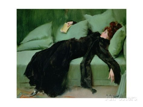 After the Ball Giclee Print by Ramon Casas i Carbo at