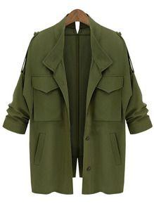 les 25 meilleures id es de la cat gorie veste vert kaki sur pinterest veste militaire tenues. Black Bedroom Furniture Sets. Home Design Ideas