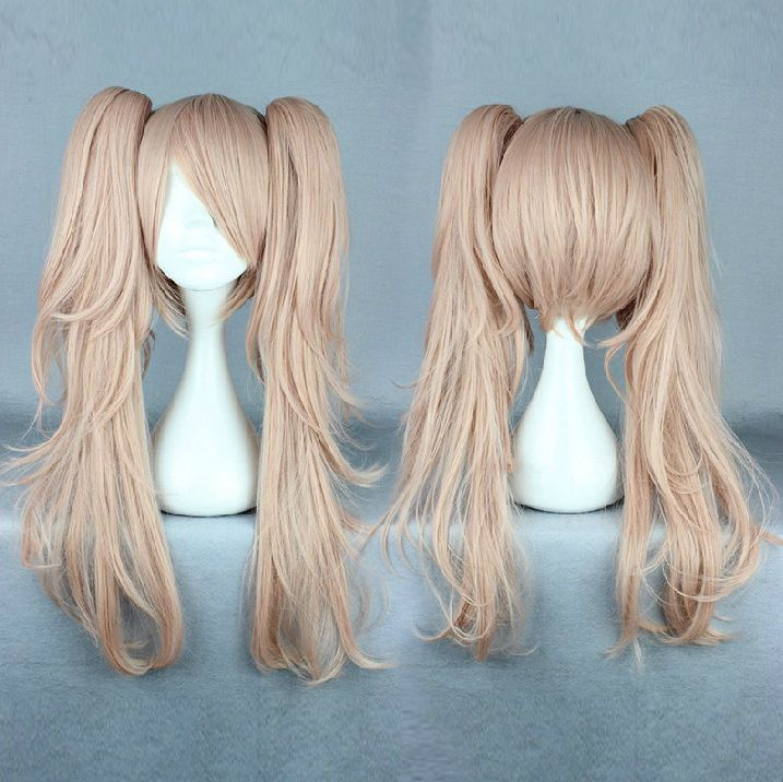 Wig Detail Dangan Ronpa Junko Enoshima Wig Includes: Wig, Hair Net Length - 65CM Important Information: Fitting - Maximum circumference of 55-60CM Material - Heat Resistant Fiber Style - Comes pre-sty