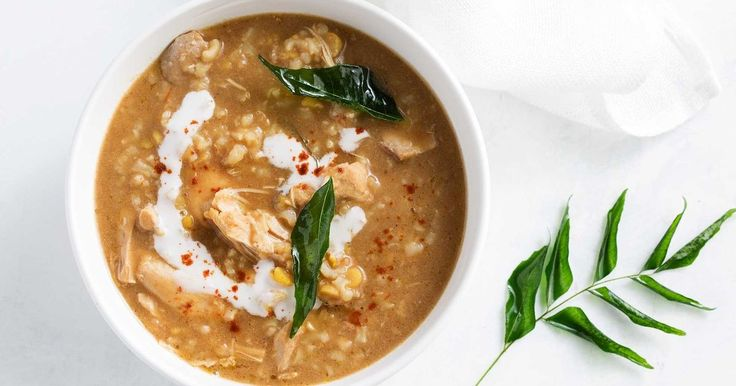 For an easy dinner, try this simple 2-step curry chicken soup made in the slow cooker.