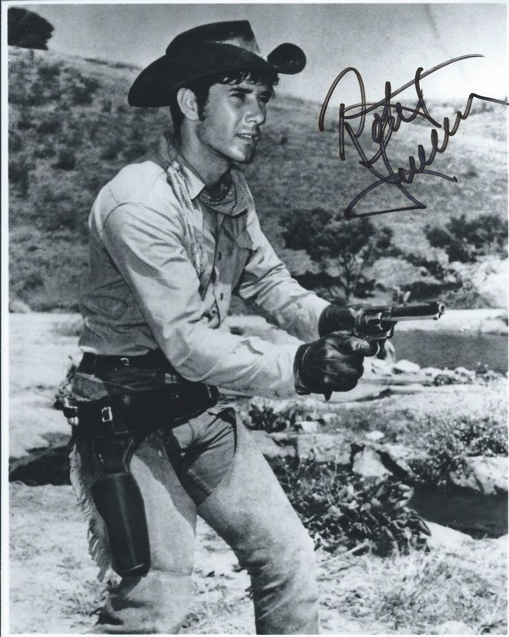 """I'd actually asked him to get one of Robert Fuller in the """"Emergency"""" tv show, but he instead got this of Robert Fuller from the """"Laramie"""" tv show."""