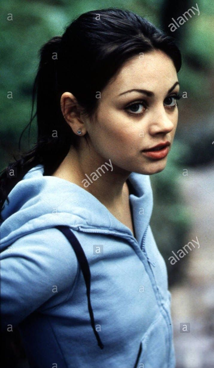 Mila Kunis in character as Rachael Newman /American Psycho 2  ( 2002 ) ( courtesy of alamy photos ) shared to groups 12/3/17