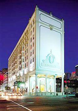 La Pavillon Hotel in New Orleans