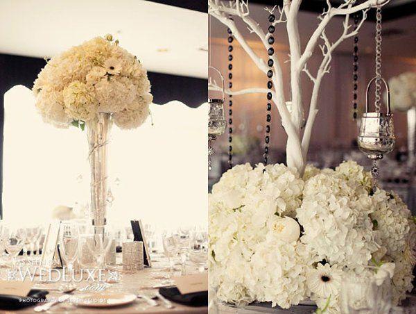 Centerpieces: Hydrangea Flower Arrangements Wedding Flowers Photos on WeddingWire
