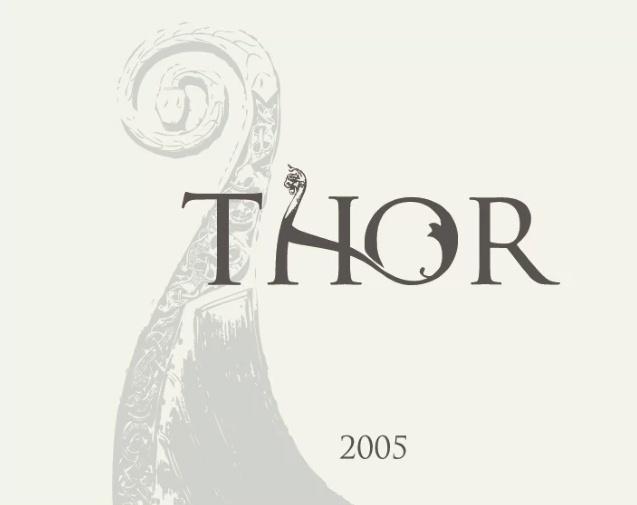 Thor wine Label