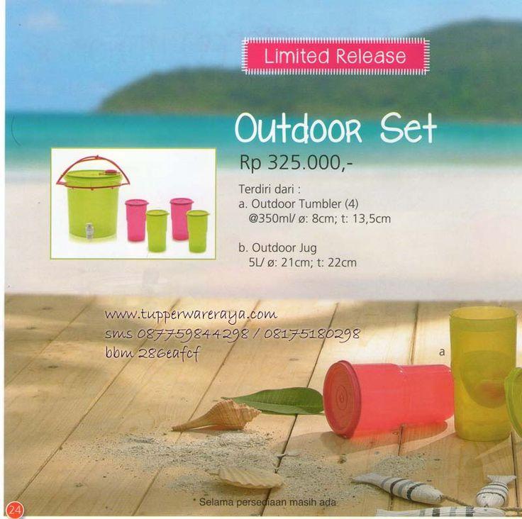 Katalog Tupperware Promo Agustus 2014 - Outdoor Set