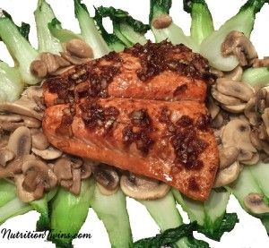 Soy Ginger Salmon - Nutrition Twins