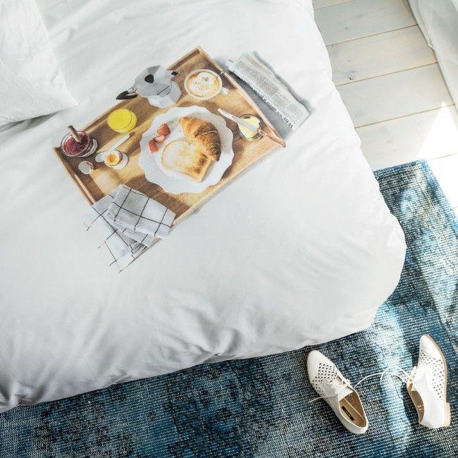 Snurk Beddengoed Breakfast koop je online bij Slaaptextiel.nl #Snurk #beddengoed #dekbedovertrek