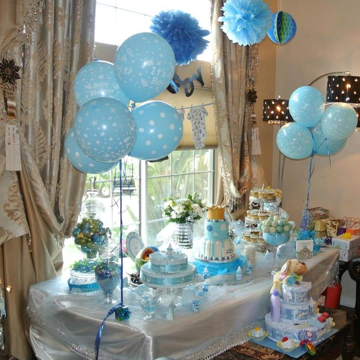 A great DIY baby shower decoration.