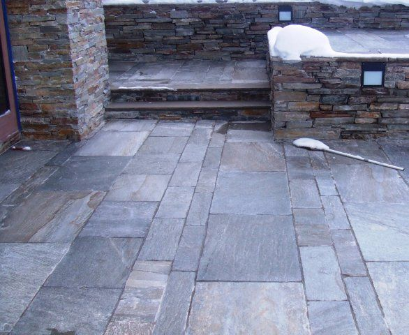 patio stone ideas sweeping polymeric sand into paver joints find this pin and more on stone - Patio Stone Ideas With Pictures