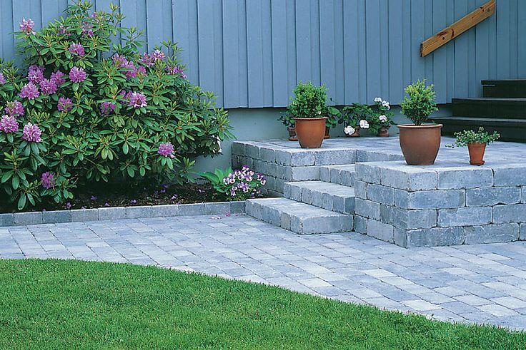 Få mer ut av hagen med støttemurer : Bygg.no - Byggeindustrien