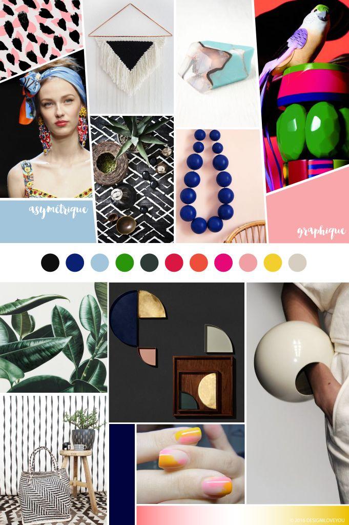 GOOD MOOD Ethnic Chic 2016 MAGAZINE INSPIRATION du Studio DESIGN I LOVE YOU www.designiloveyou.com/magazine / ETHNIC CHIC : Comme toutes les tendances, la tendance Ethnic est en mutation permanente. Cette année, elle est Chic  traduit d'une combinaison infinie de style graphique à la fois géométrique et naturel, de couleurs vives et profondes, et d'une association de matériaux précieux et bruts, autant de possibilitées pour former un tout qui va très bien ensemble.