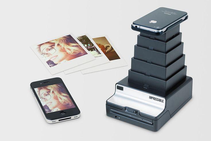 A Portable Printer That Turns Phone Pics Into Polaroids. I want one!