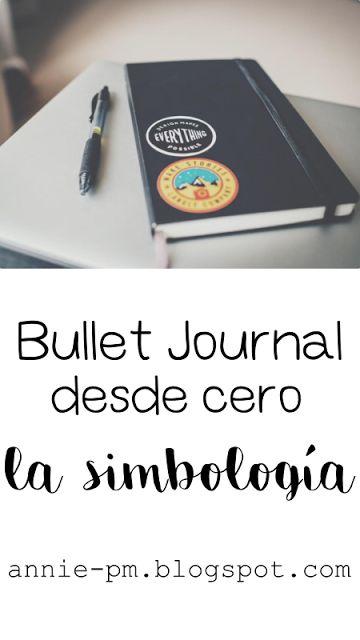 Bullet Journal desde cero: la simbología