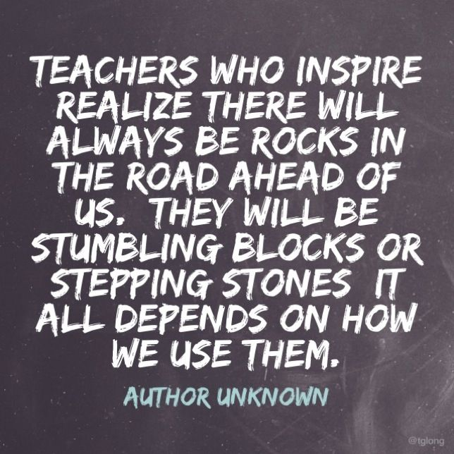 teachers who inspire quotes teaching