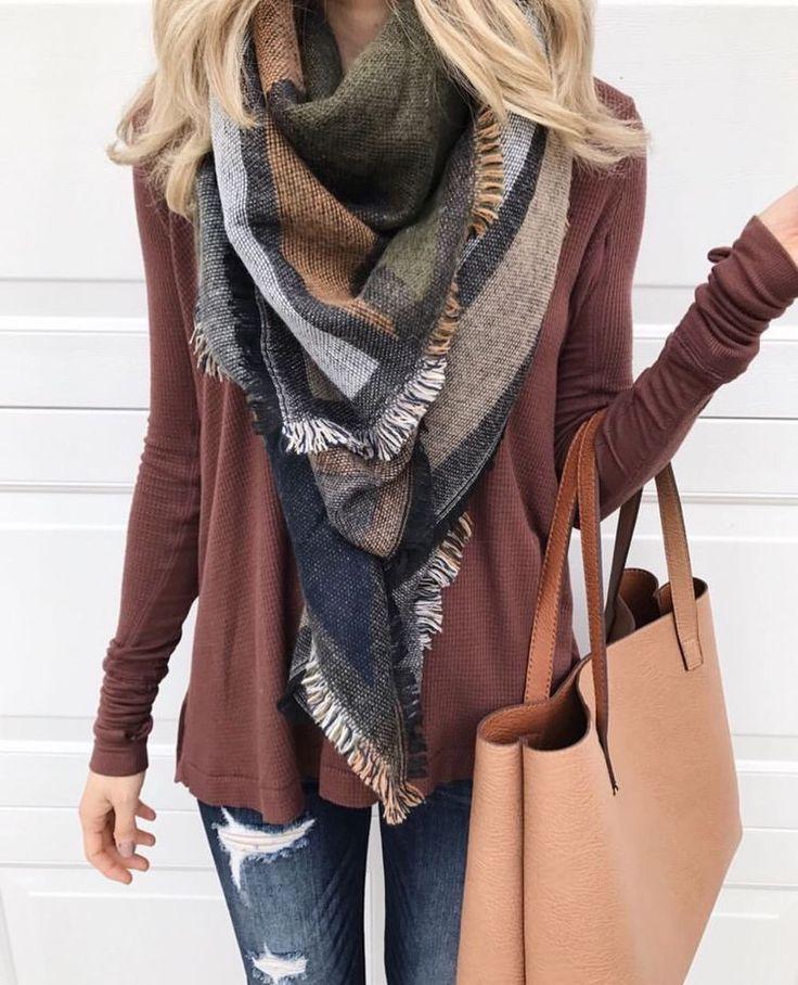 Best 25+ Blanket scarf ideas on Pinterest | Wearing ...