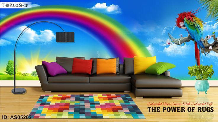 Add colours to your life. Make it more cheerful and animated with our trendy #colourfulrugs. http://bit.ly/1GIkV2A