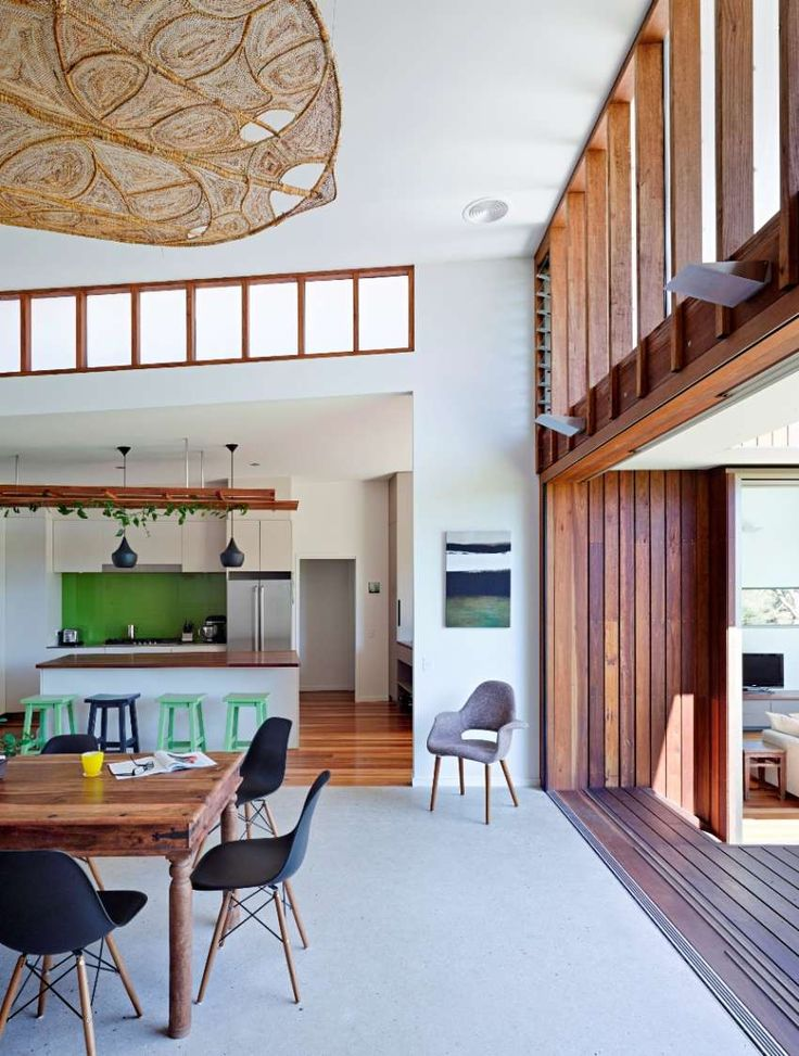 ... spotted gum within this natural light-filled home designed by Bark Design  Architects. For more info on our online Interior Design course, visit the.