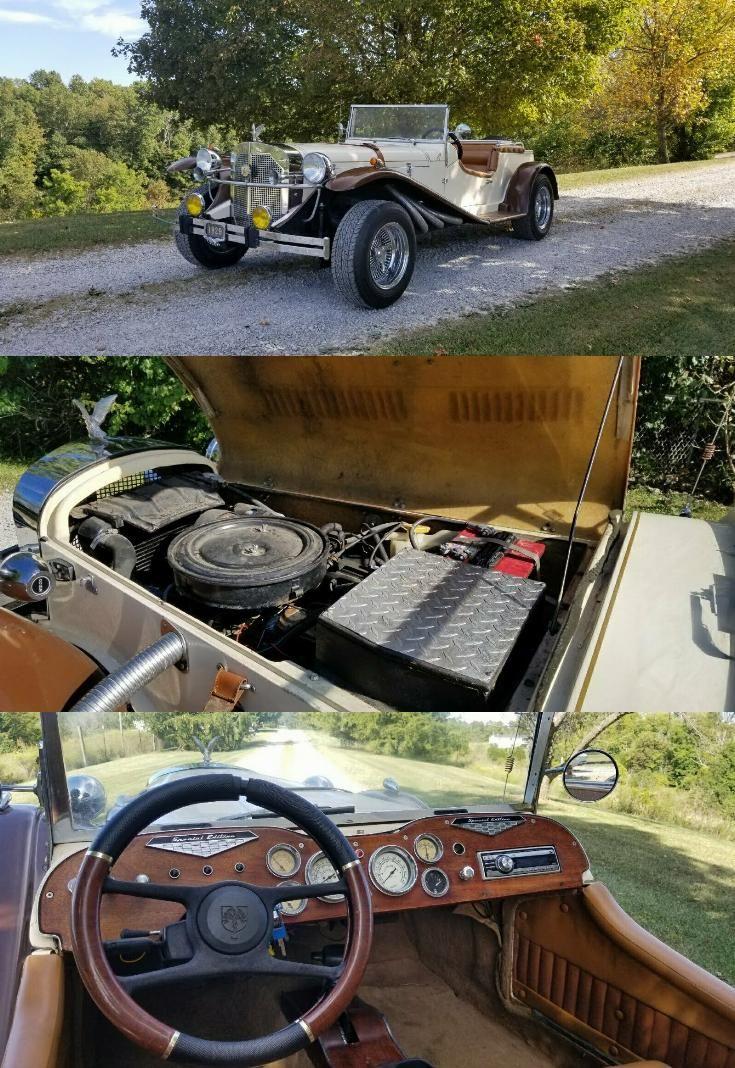 Great Running 1929 Mercedes Gazelle Replica Replica Cars Mercedes Replicas