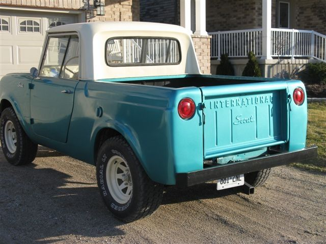 1963 International Scout Model 80 «
