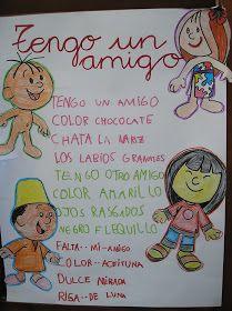 Hace unos años , para el día de la Paz enseñé a mis alumn@s esta poesía de la escritora Inmaculada Díaz.