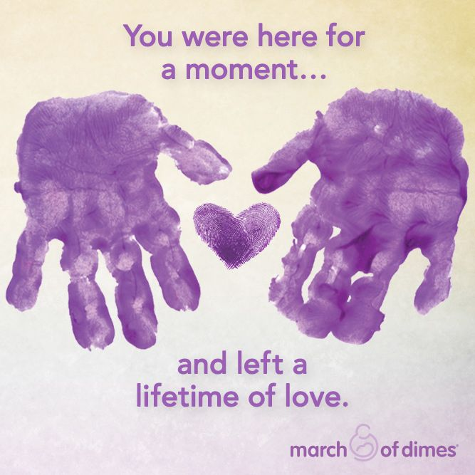 Today is Pregnancy and Infant Loss Remembrance Day. We at the March of Dimes are thinking of all moms, dads, and families who have experienced the unimaginable pain of loss.