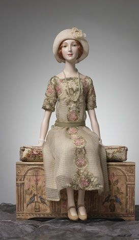 Beautiful and sweet.  This doll reminds of my Great Aunt Helen. It looks almost…