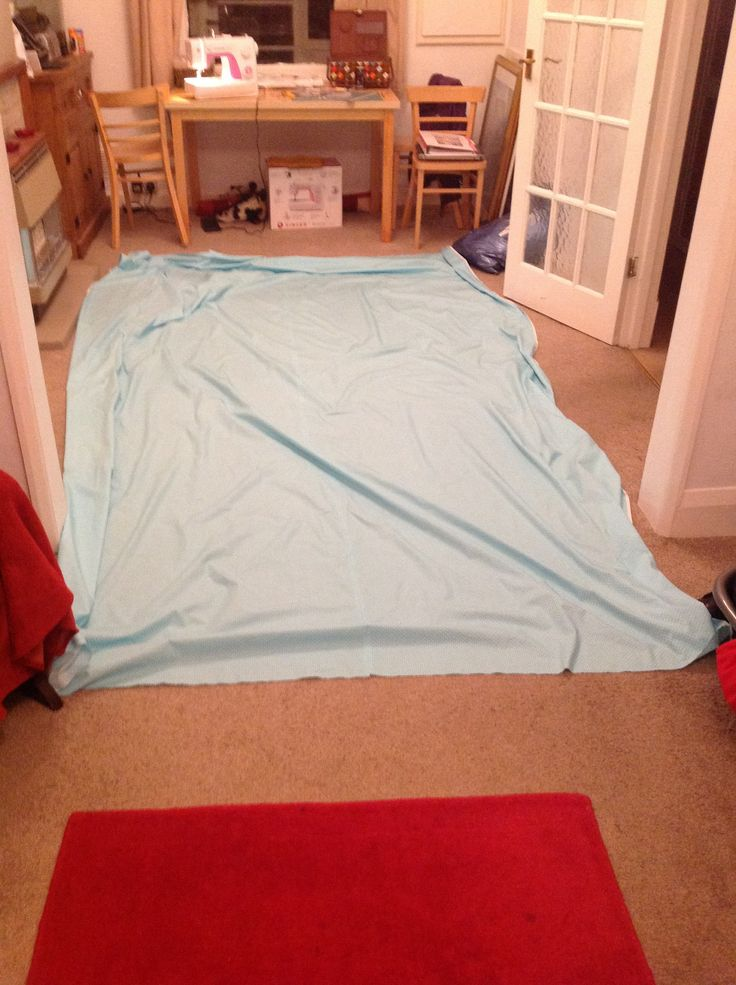 How big is the bottom sheet?!!! This will be interesting layering it all together!