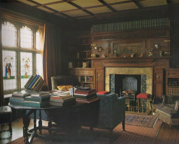 historic english country style dining rooms | English Country House Libraries (page 7)