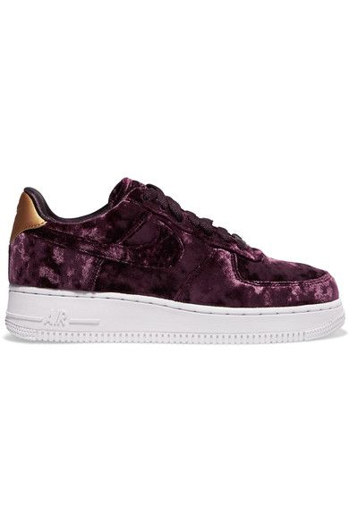official photos f4cc9 96a45 Rubber sole measures approximately 30mm  1 inch Grape crushed-velvet, gold  faux leather