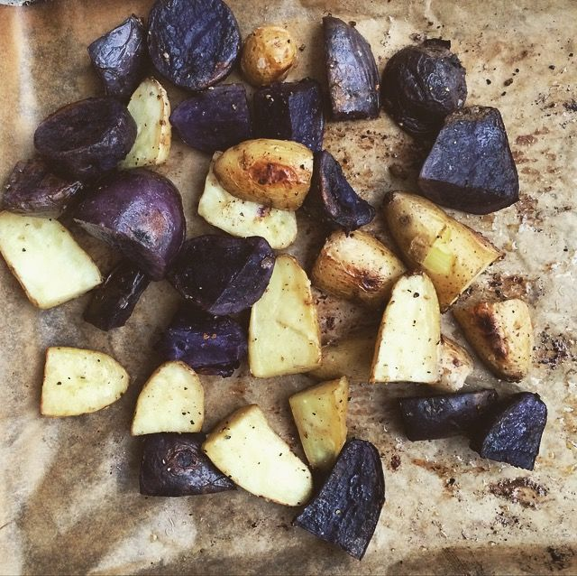 Roasted Potatoes with Rosemary-Infused Olive Oil | TheWholeTara.com