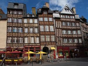Rennes, Bretagne - one the places I've lived...