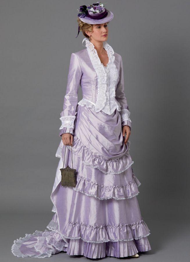 B6692 Butterick Schnittmuster historisches Kleid