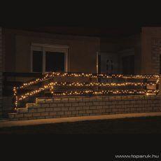 HOME KKL 1000/WW Kültéri LED-es fényfüzér, 70 m hosszú, 1000 db meleg fehér fényű LED-del, állófényű