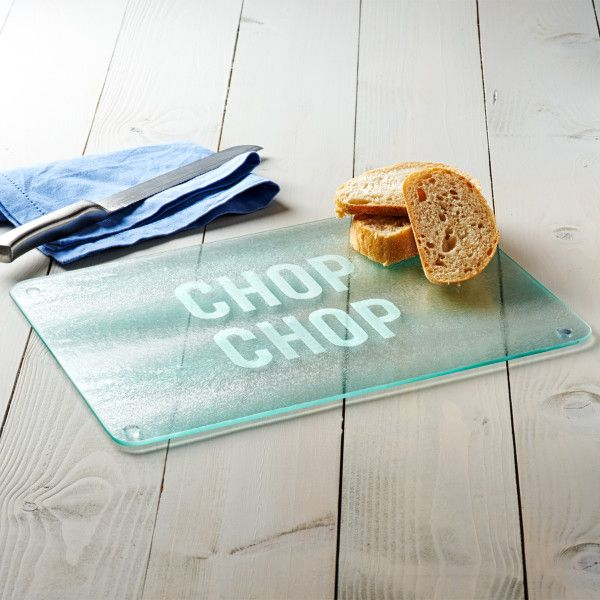 Chop Chop Glass Chopping Board