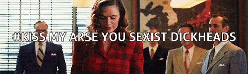 #Kiss my arse you sexist dickheads || Peggy Carter || Agent Carter (2013) || 245px x 150px || #animated #fanedit