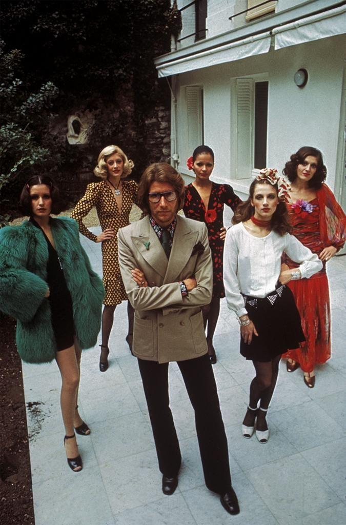 Yves Saint Laurent by Bruno Barbey, 1971