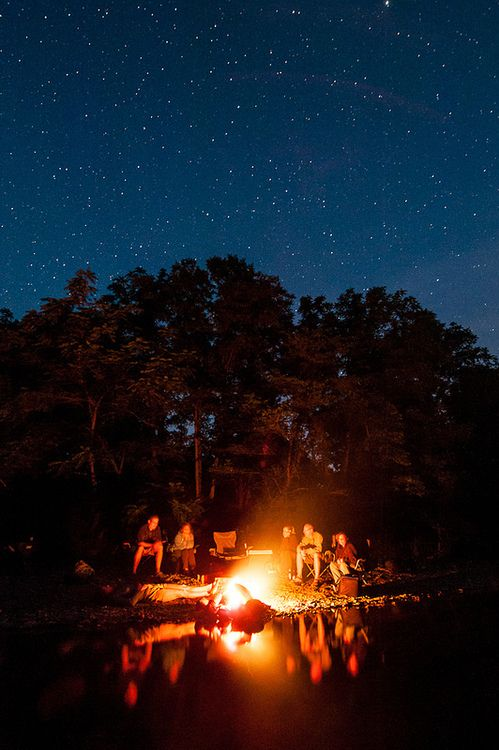 Live in the Now & Live in the Wow ~Riverside Campfire