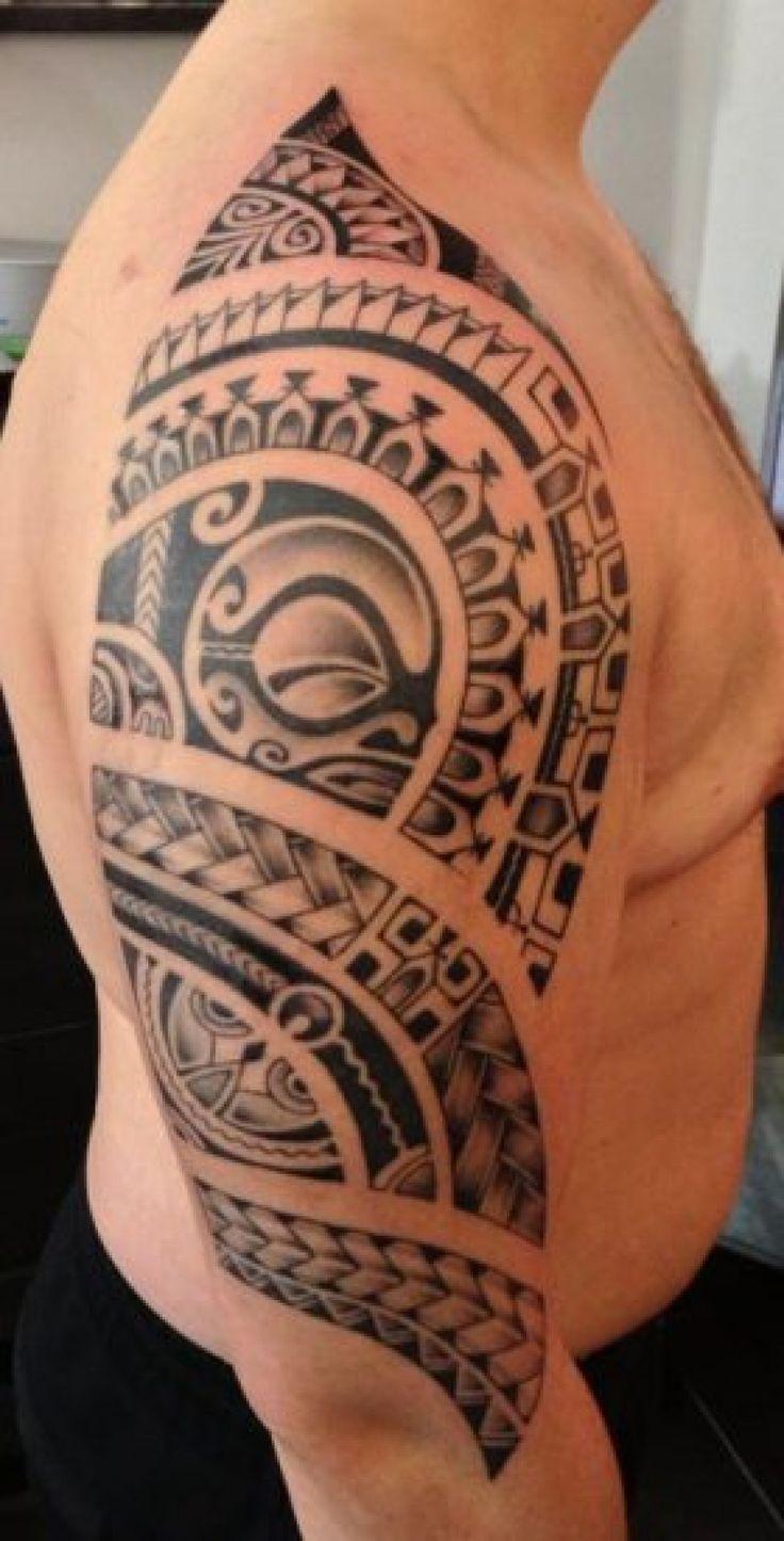 Tatouage tribal ombre - Tatouage tribal