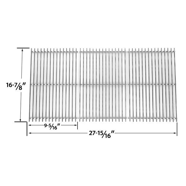 3 PACK REPLACEMENT STAINLESS STEEL COOKING GRID FOR CHARBROIL 463420507, 463420508, 463420509, KENMORE 463420507, 461442513 AND MASTER CHEF 85-3100-2, 85-3101-0, G43205, T480 GAS GRILL MODELS  Fits Charbroil Models: 463420507, 463420508, 463420509, 463440109, 463460708, 463460710, 466420909, 463420510, 4362436214, 463420510, 463420511, 463420512, 463436213, 463436214, 463436413, 463440109  BUY NOW…