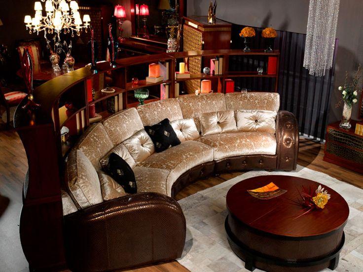 Купить круглый диван KD 04 под заказ по Вашим размерам.