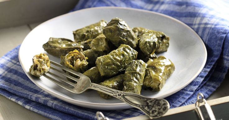 Stuffed Grape Vine Leaves, widely known as ''Dolmades'' in Greece, are very tasty and can be served as an ''appetizer'' or as a main dish.