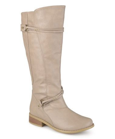 Another great find on #zulily! Stone Harley Boot #zulilyfinds