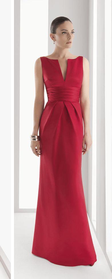 Patrón gratis: vestido de fiesta Rosa Clará (tallas 36-56