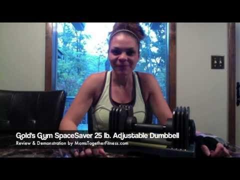 Review: Gold's Gym SpaceSaver 25 lb. Adjustable Weight Dumbbells - http://adjustabledumbbellstoday.com/review-golds-gym-spacesaver-25-lb-adjustable-weight-dumbbells/