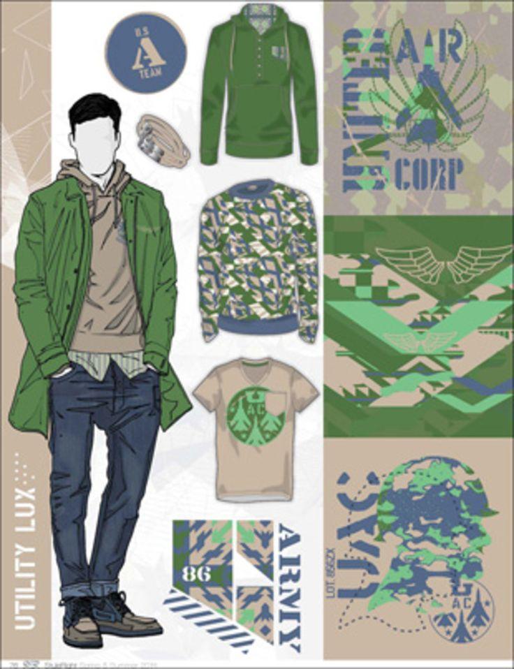 Style Right Menswear Trend Book - S/S 2014 - Menswear - Styling ...