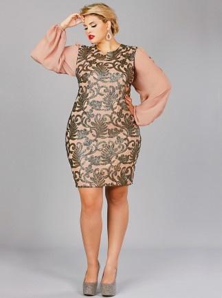 chloe georgette dress- Monif C