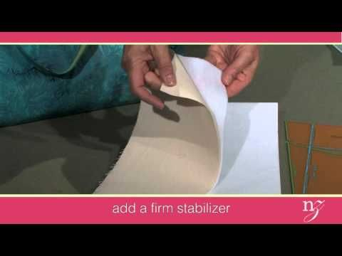 Nancy Zieman shows you how to sew a tote in an evening with her Baby Lock Ellisimo sewing and embroidery machine