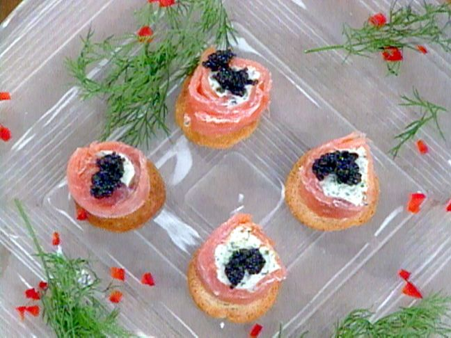 Karen's Smoked Salmon Roulade from FoodNetwork.com